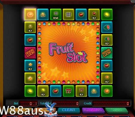 Fruit Slot W88 – Instructions on how to play Fruit Slot most detail