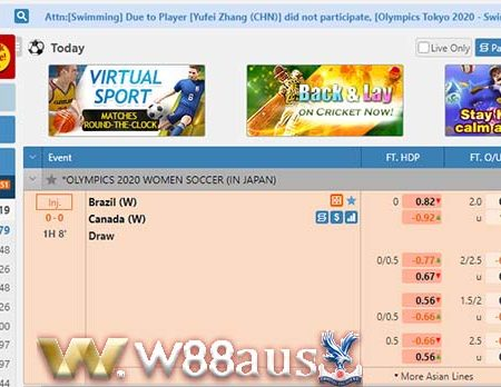 E-sports W88 – Introducing Platform Fooball Betting at W88