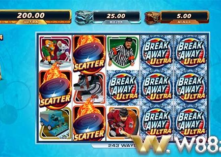 How to play Breakaway Ultra slot at W88 Bookie
