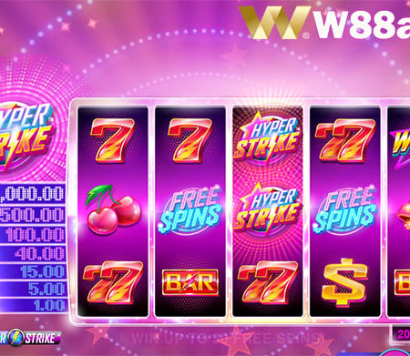 Hyper Strike Slot – Discover extremely attractive slot games at W88