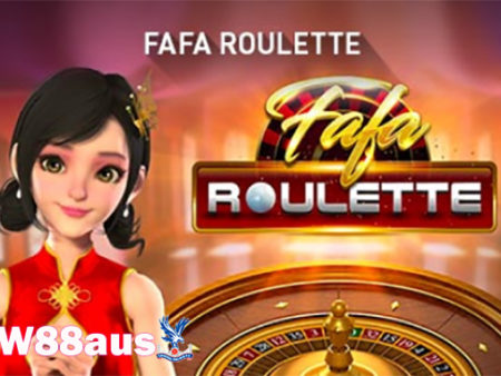 FaFa Roulette – Discover the new version of Roulette at the W88 bookmaker